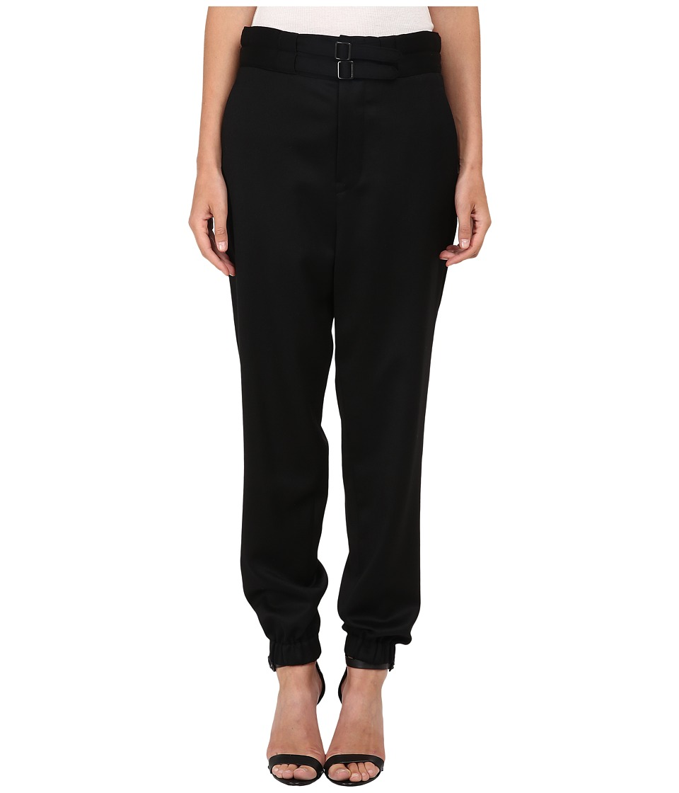 Y's by Yohji Yamamoto - YY-P42-130 (Black) Women's Casual Pants