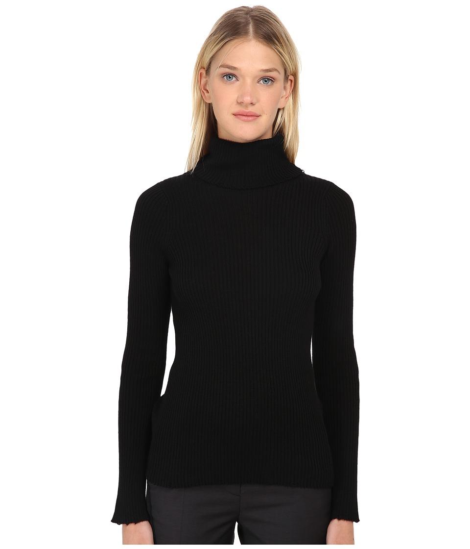 Y's by Yohji Yamamoto - YY-K02-180 (Black) Women's Sweater