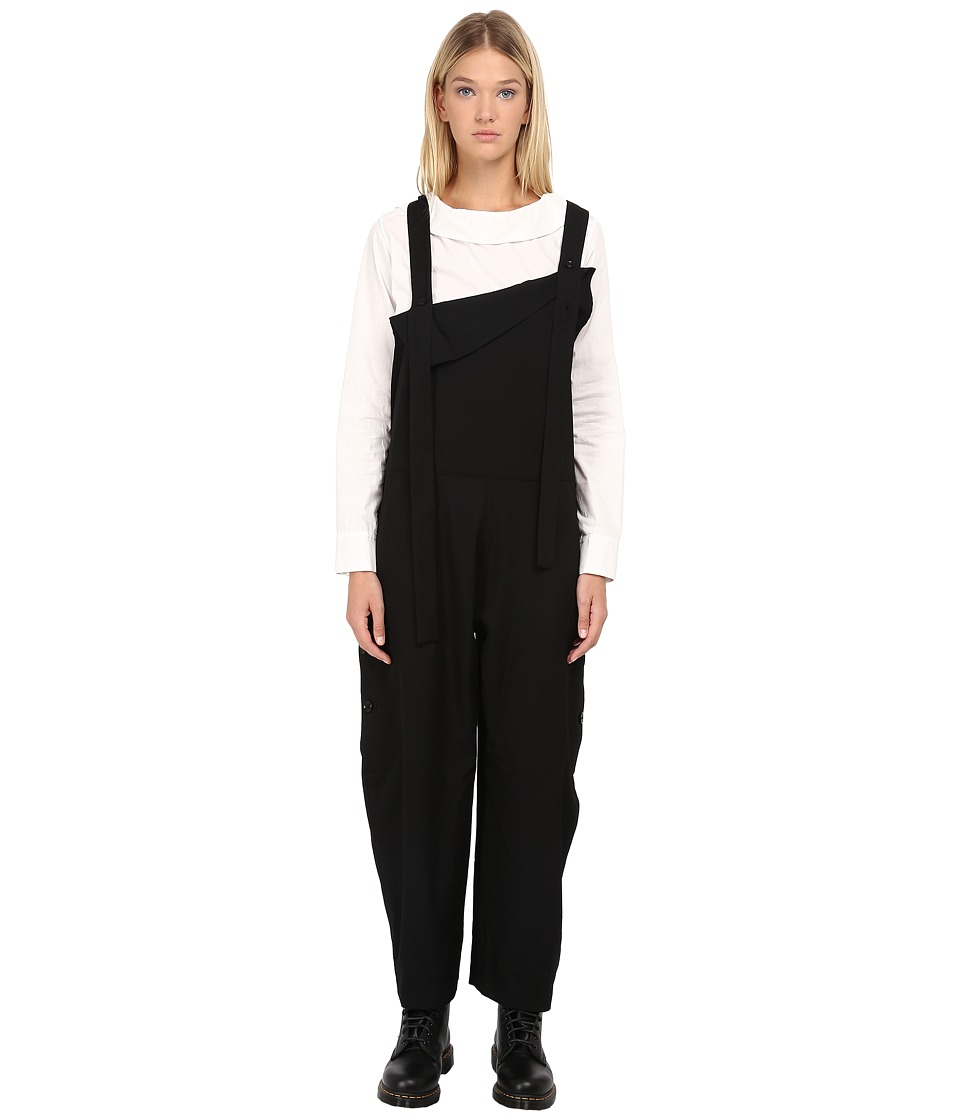 Y's by Yohji Yamamoto - YY-D06-100 (Black) Women's Overalls One Piece