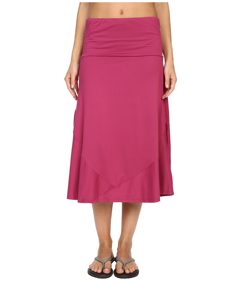 ExOfficio Wanderluxtm Convertible Skirt (Mulberry) Women