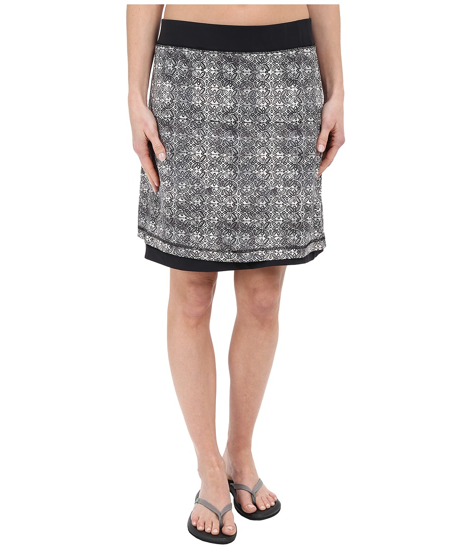 ExOfficio - Wanderlux Reversible Print Skirt (Dk Pebble Print) Women's Skirt