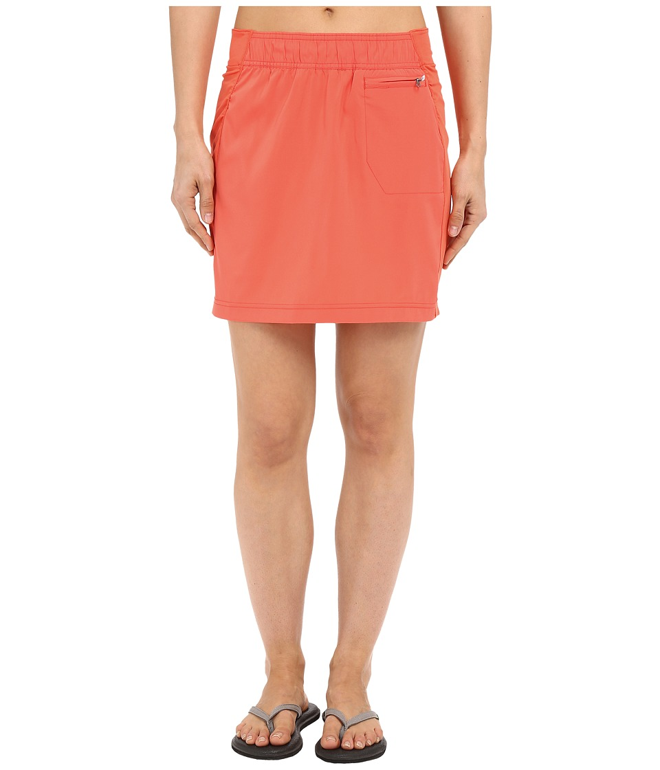 ExOfficio Sol Cooltm Skirt (Hot Coral) Women