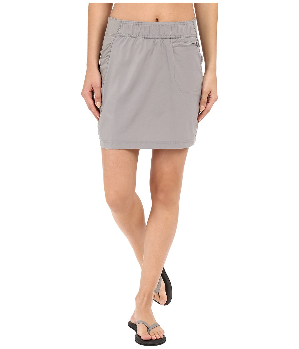 ExOfficio - Sol Cool Skirt (Cement) Women's Skirt