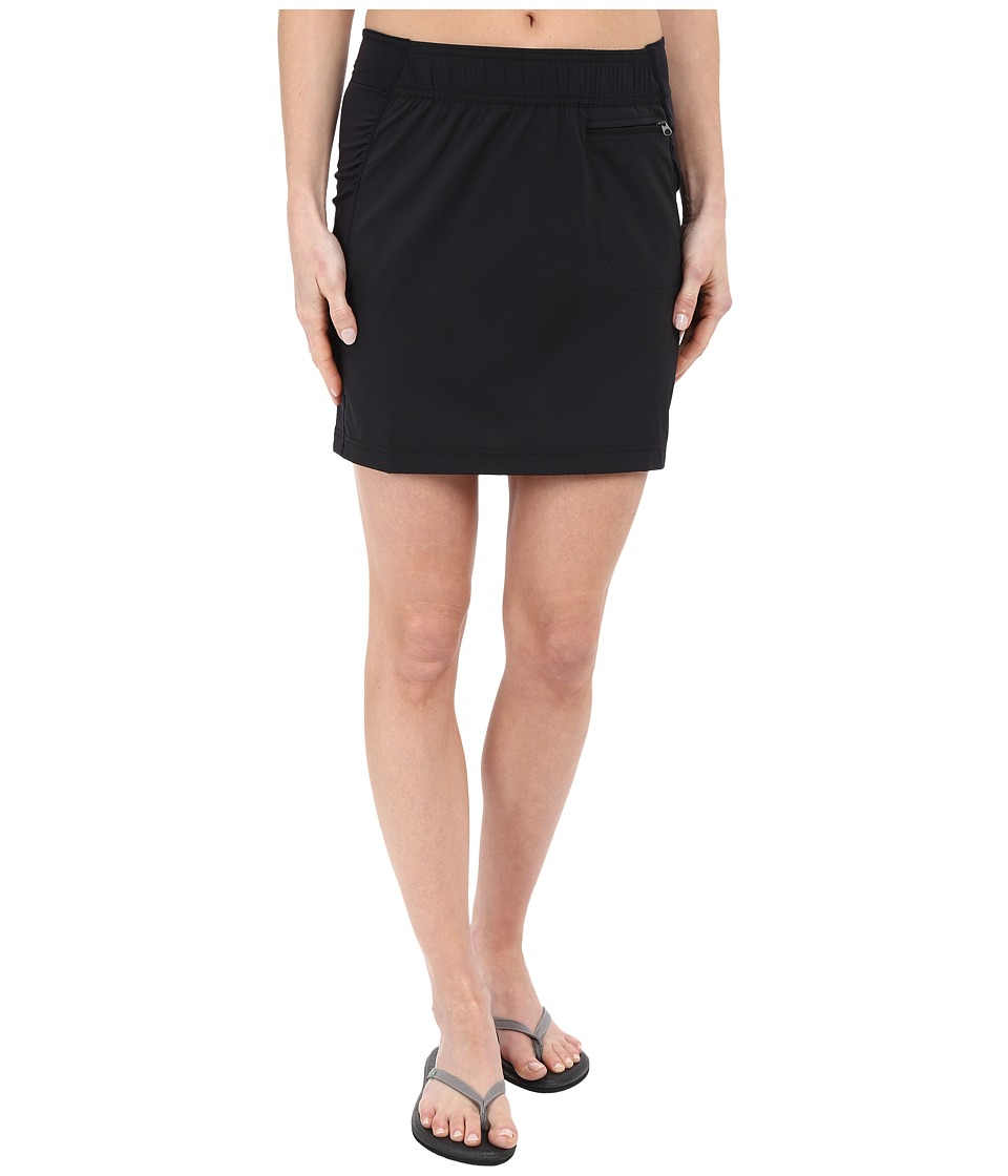 ExOfficio Sol Cool Skirt (Black) Women