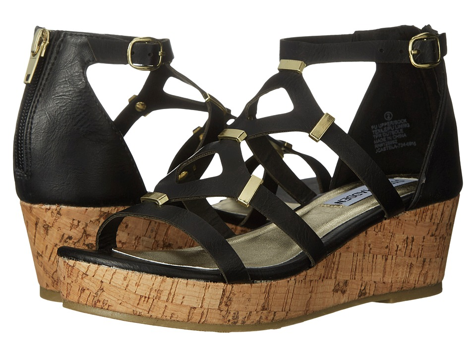 Steve Madden Kids - Jcastela (Little Kid/Big Kid) (Black) Girl
