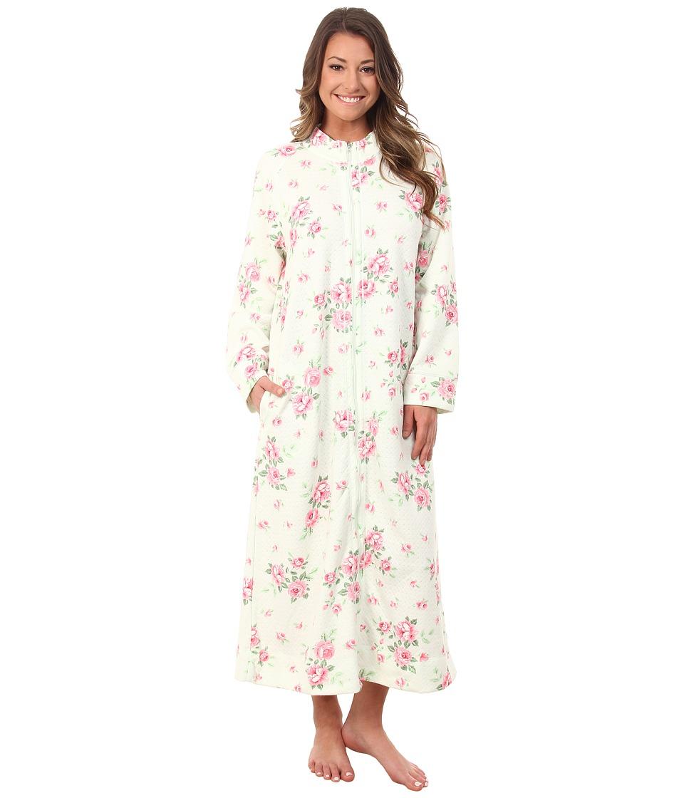 Carole Hochman - Zip Robe (Cascading Floral/Celadon) Women