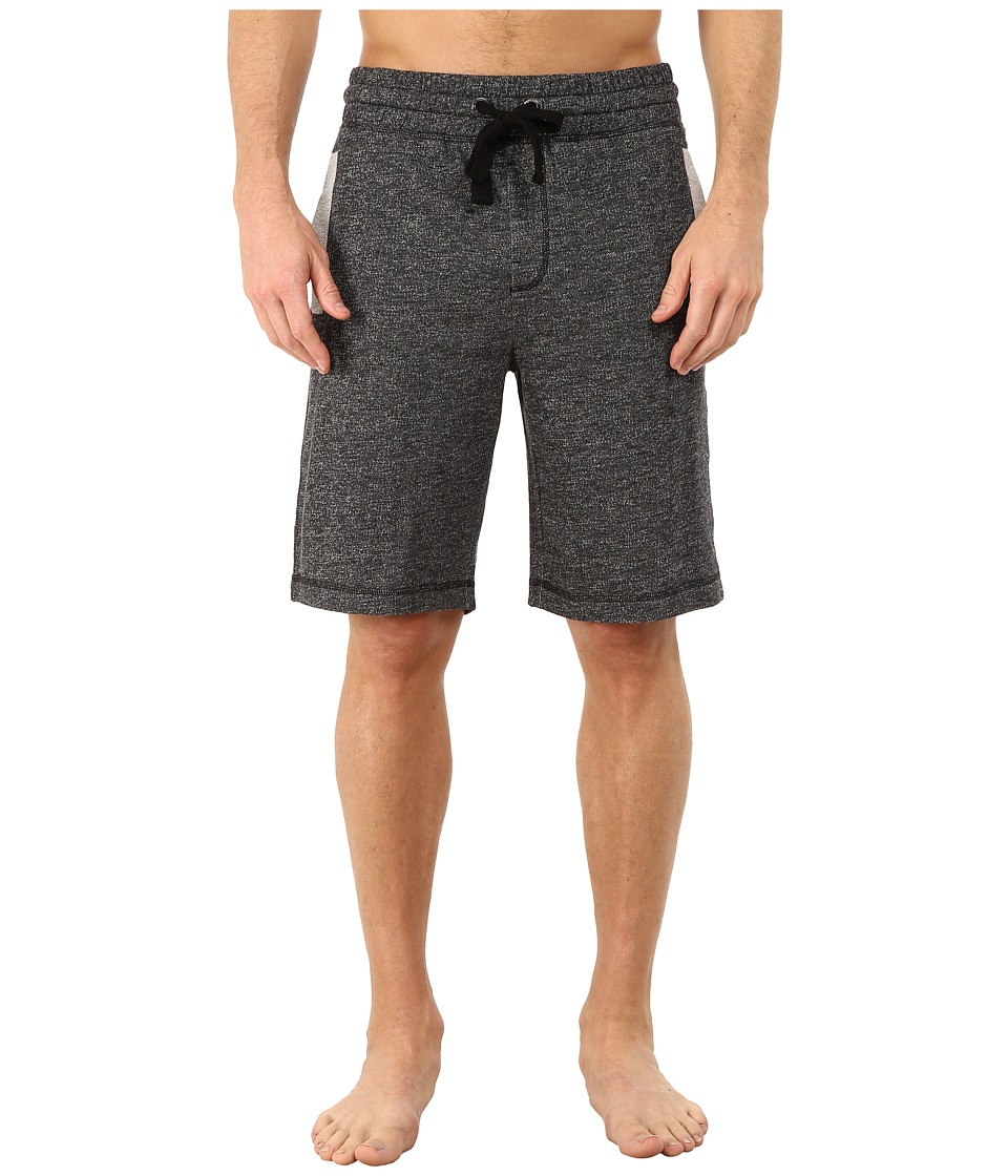2(X)IST - Athleisure - Active Core Terry Shorts (Black Heather) Men's Shorts