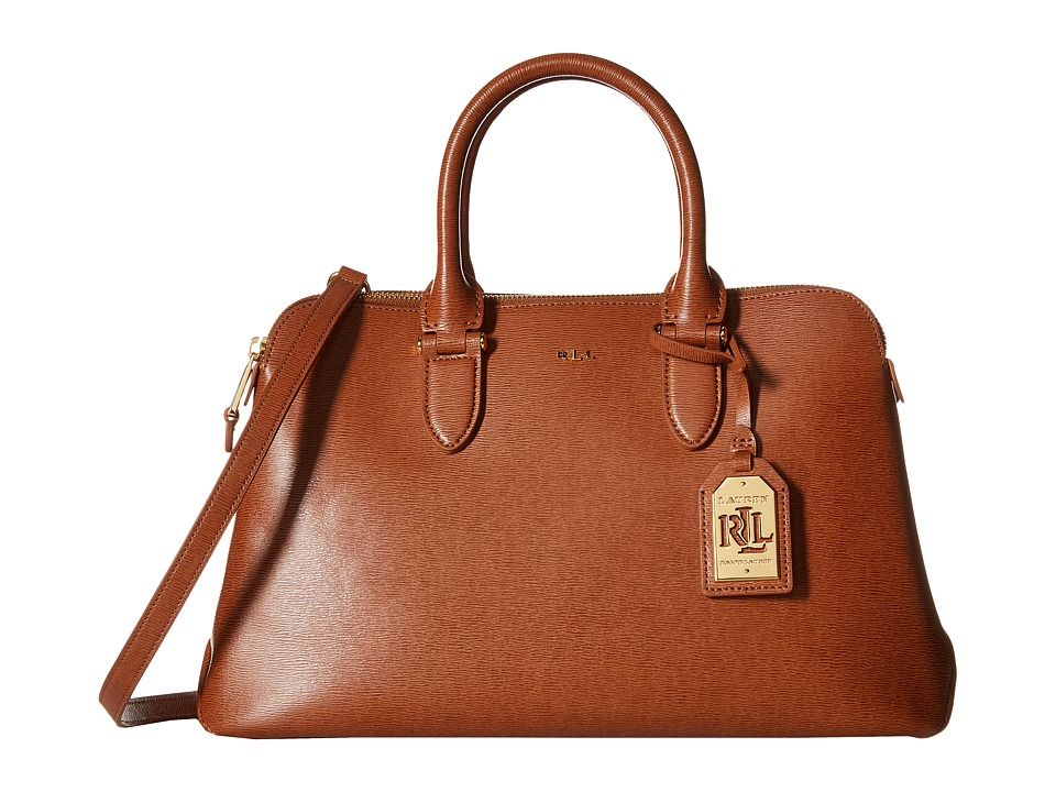 LAUREN Ralph Lauren - Newbury Double Zip Dome (Lauren Tan) Handbags