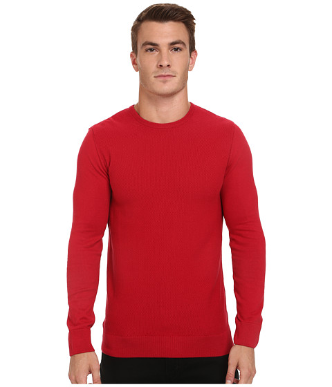Mavi Jeans - Crew Neck Sweater (Red) Men's Sweater