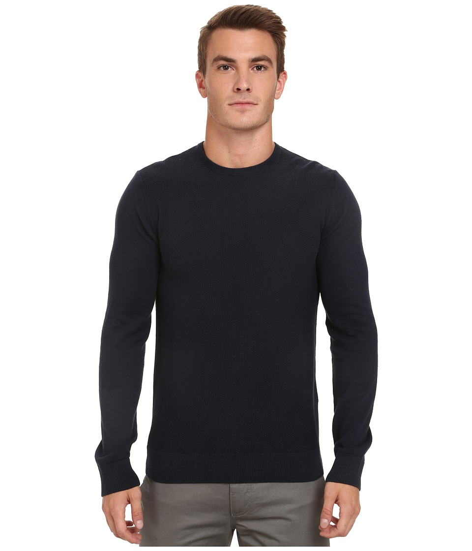 Mavi Jeans - Crew Neck Sweater (Total Eclipse) Men's Sweater
