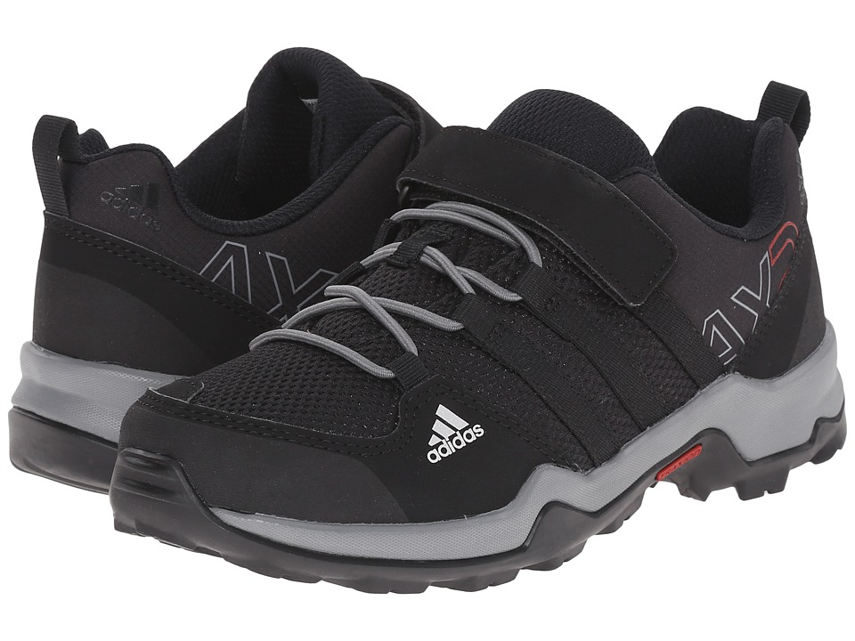adidas Outdoor Kids - AX2 CF (Little Kid/Big Kid) (Core Black/Core Black/Vista Grey) Kids Shoes