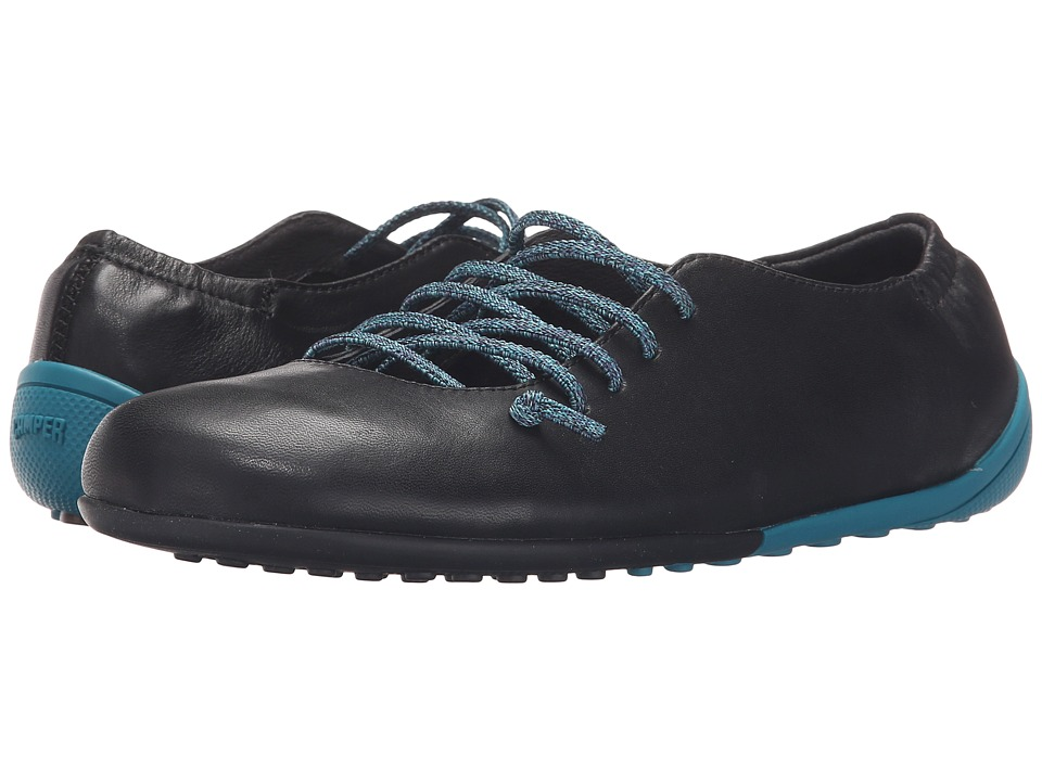 Camper - Peu Circuit - K200130 (Black) Women's Lace up casual Shoes