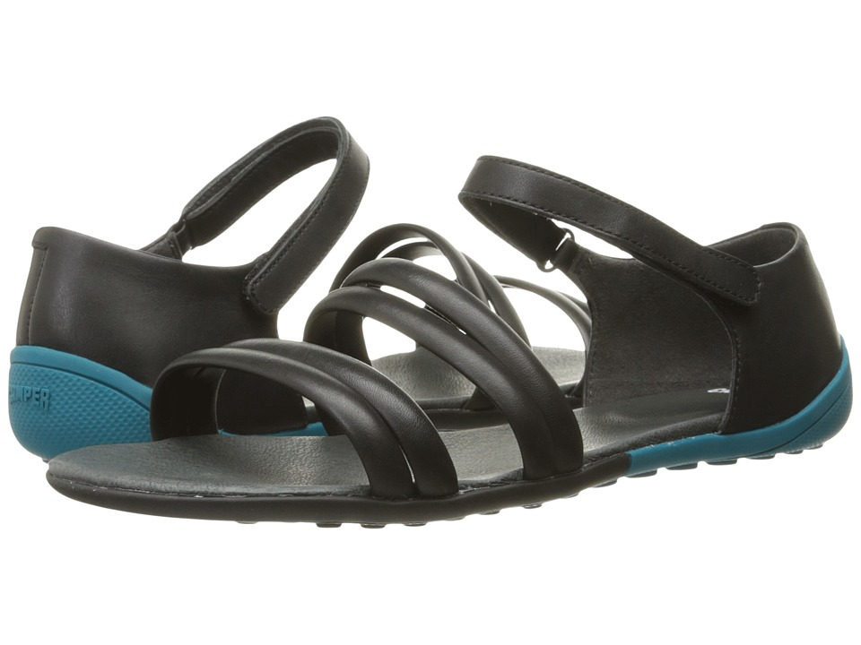 Camper - Peu Circuit - K200173 (Black) Women's Sandals