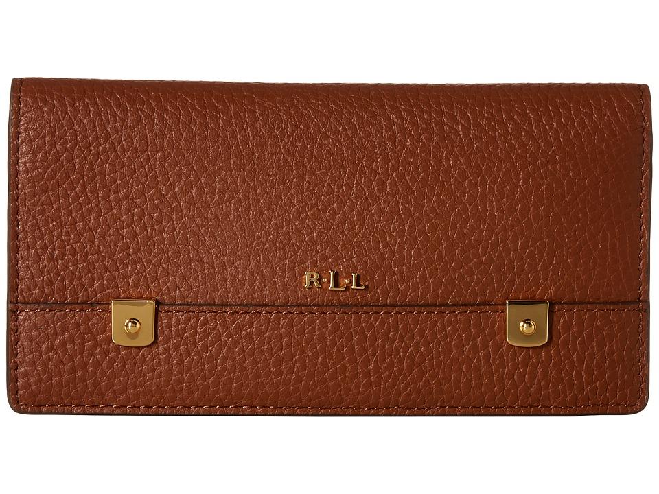 LAUREN Ralph Lauren - Morrison Slim Wallet (Bourbon) Wallet Handbags