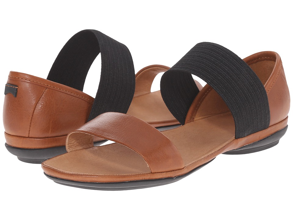 Camper - Right Nina - 21735 (Medium Brown) Women's Sandals