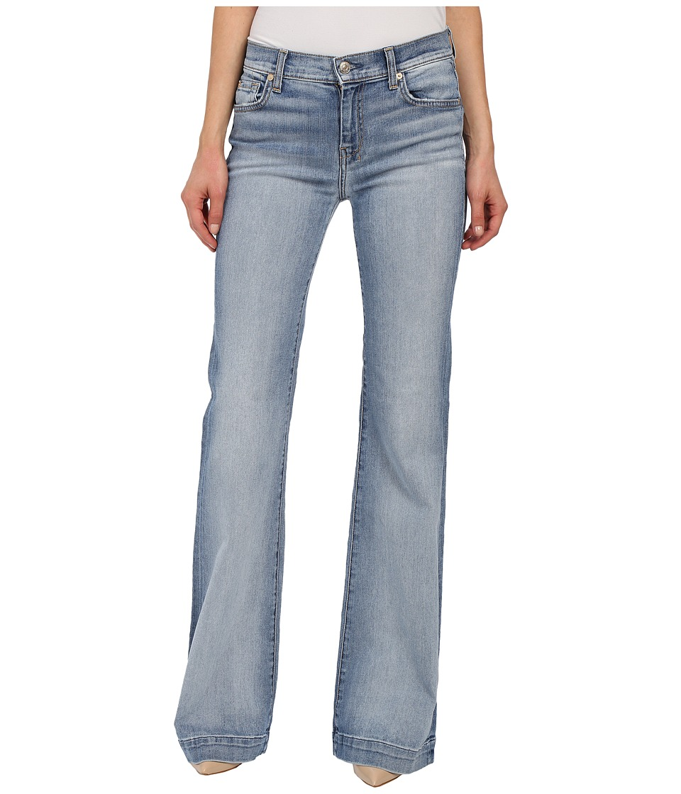 7 For All Mankind - Dojo in Pretty Light Vintage (Pretty Light Vintage) Women