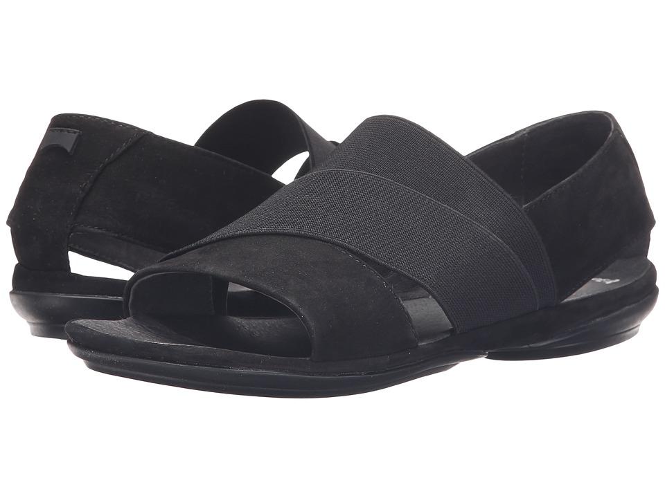 Camper - Right Nina - K200142 (Black) Women's Flat Shoes
