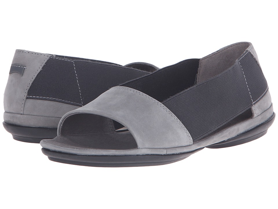Camper - Right Nina - K200141 (Dark Gray) Women's Flat Shoes