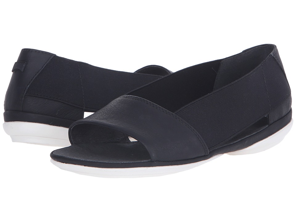 Camper - Right Nina - K200141 (Black) Women's Flat Shoes