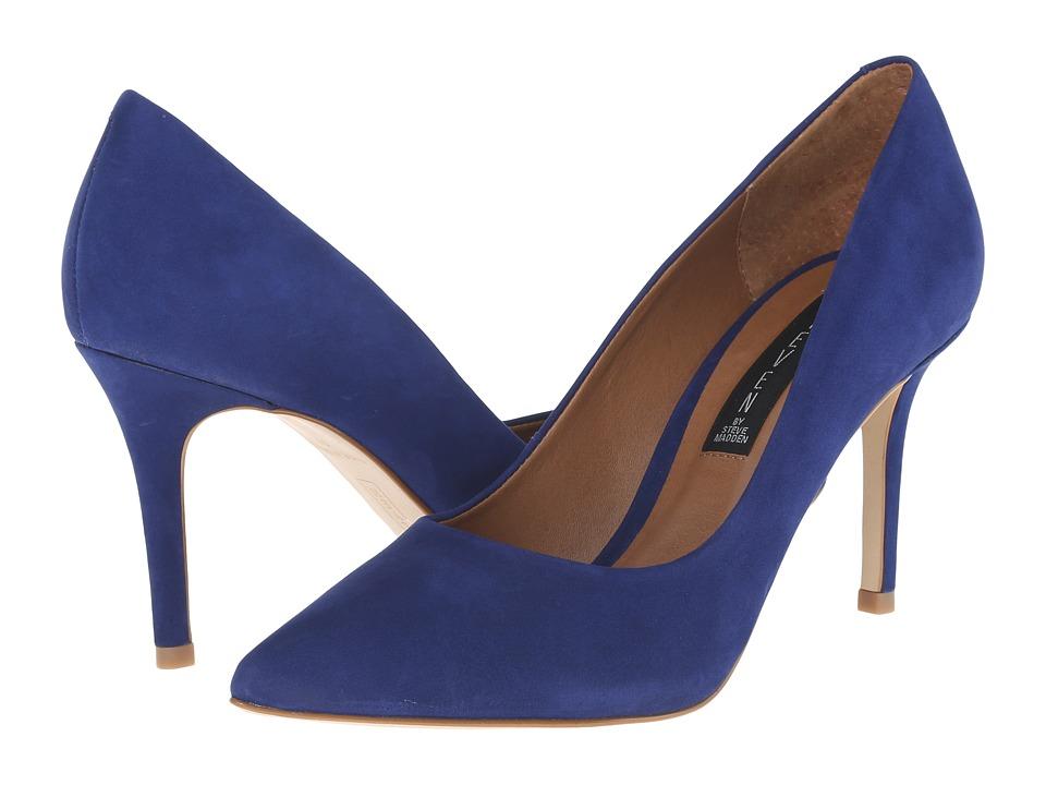 Steven Shiela (Blue Nubuck) High Heels