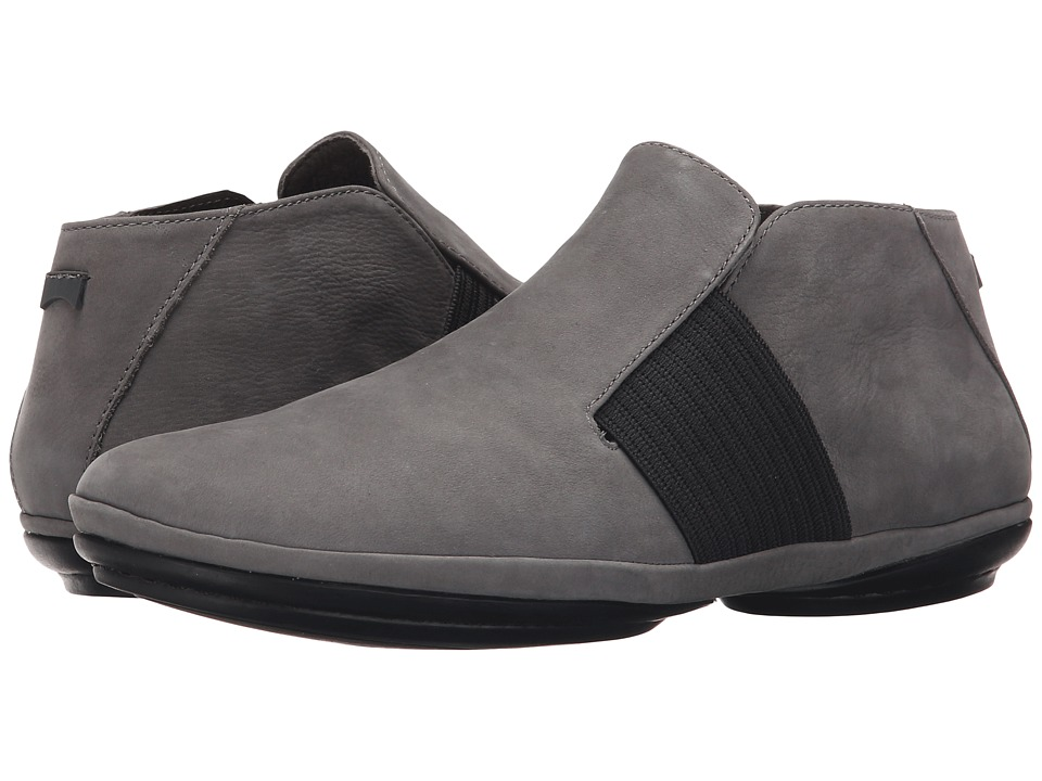 Camper - Right Nina - K400084 (Dark Gray) Women's Slip on Shoes