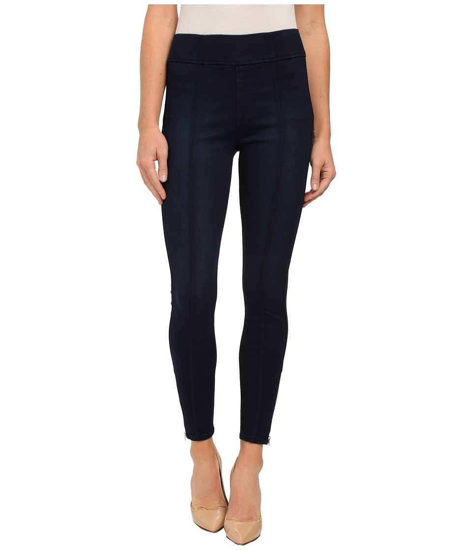 7 For All Mankind Seamed Leggings w/ Ankle Zips in Slim Illusion Luxe/Nightfall (Slim Illusion Luxe/Nightfall) Women