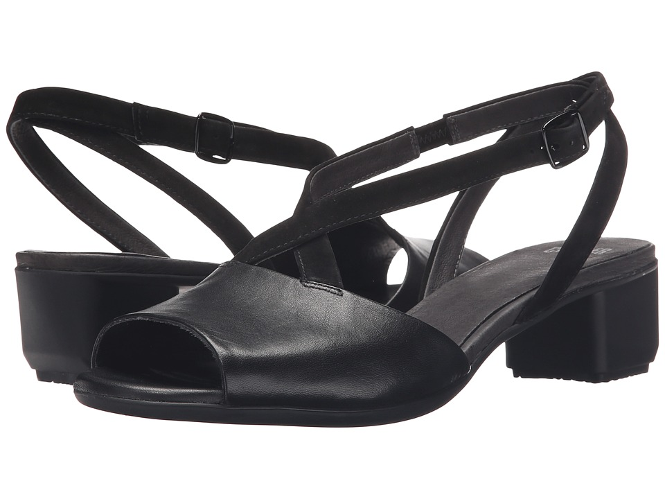 Camper - Beth - K200069 (Black) Women's 1-2 inch heel Shoes