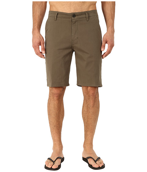 Rip Curl - Epic Stretch Chino Walkshorts (Military Green) Men's Shorts
