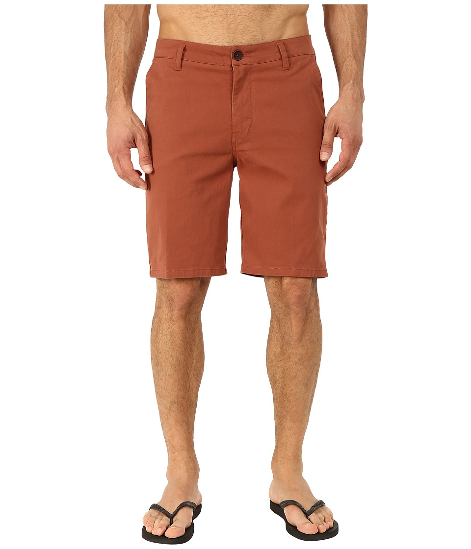 Rip Curl - Epic Stretch Chino Walkshorts (Rustic Brown) Men's Shorts