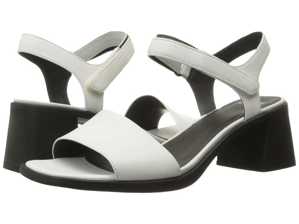 Camper - Karolina - K200101 (White Natural) High Heels