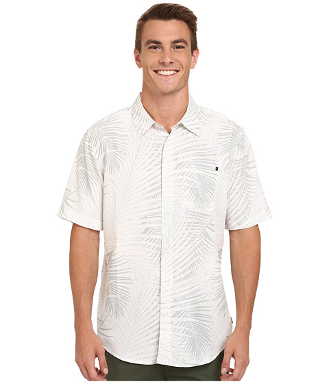 Rip Curl - Firenza Short Sleeve Shirt (Off-White) Men's Clothing