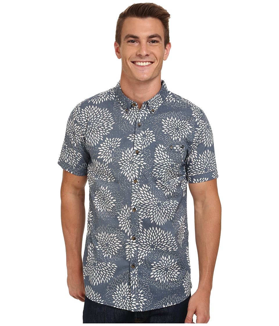 Rip Curl - Pinto Short Sleeve Shirt (Denim Blue) Men's Clothing