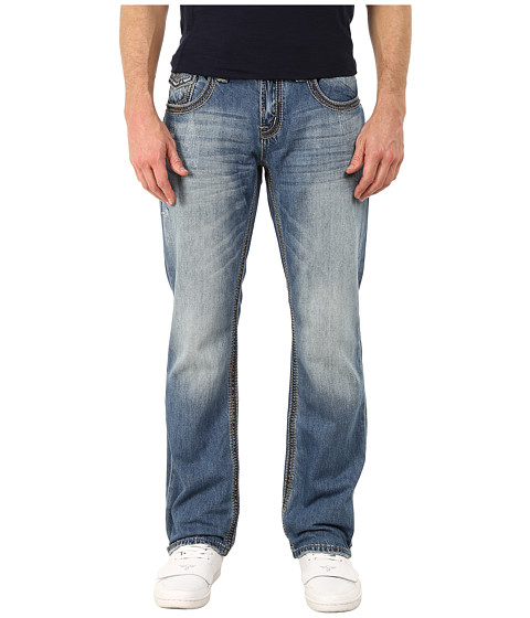Seven7 Jeans - Luxury Denim Straight Leg Jeans in Foothill Blue (Foothill Blue) Men's Jeans