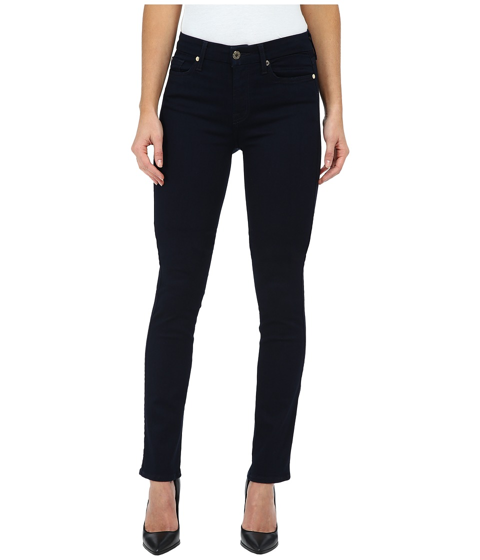 7 For All Mankind - Kimmie Straight in Slim Illusion Luxe/Rinse (Slim Illusion Luxe/Rinse) Women
