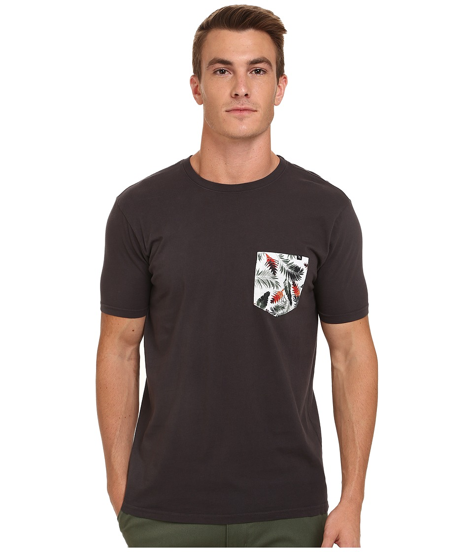 Rip Curl - Pinto Custom Tee (Black) Men's T Shirt