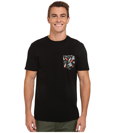 Rip Curl - Pinto Custom Tee (Limo Black) Men