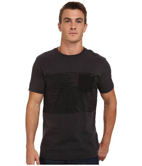 Rip Curl - The Stranded Custom Tee (Black) Men's T Shirt