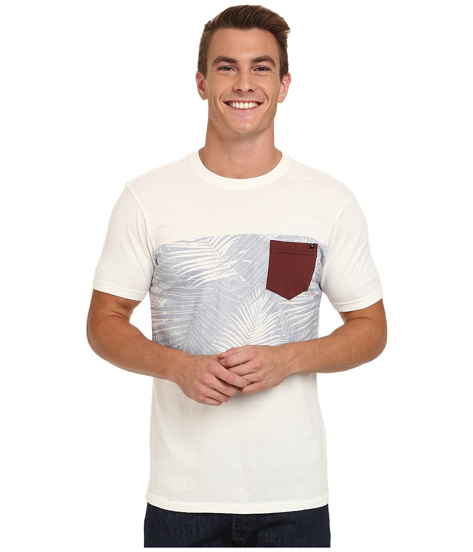Rip Curl - The Stranded Custom Tee (Off-White) Men's T Shirt