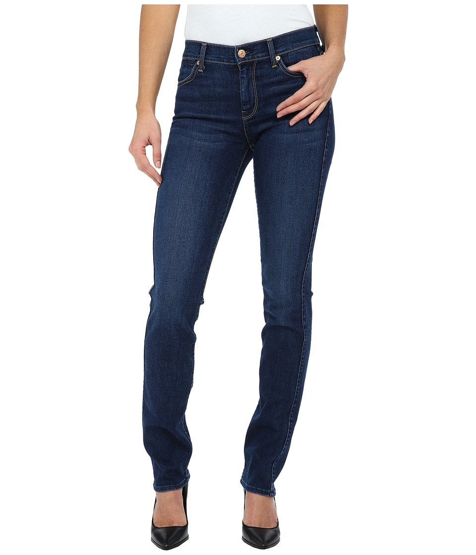 7 For All Mankind - The Modern Straight in Slim Illusion Stunning Seville (Slim Illusion Stunning Seville) Women's Jeans