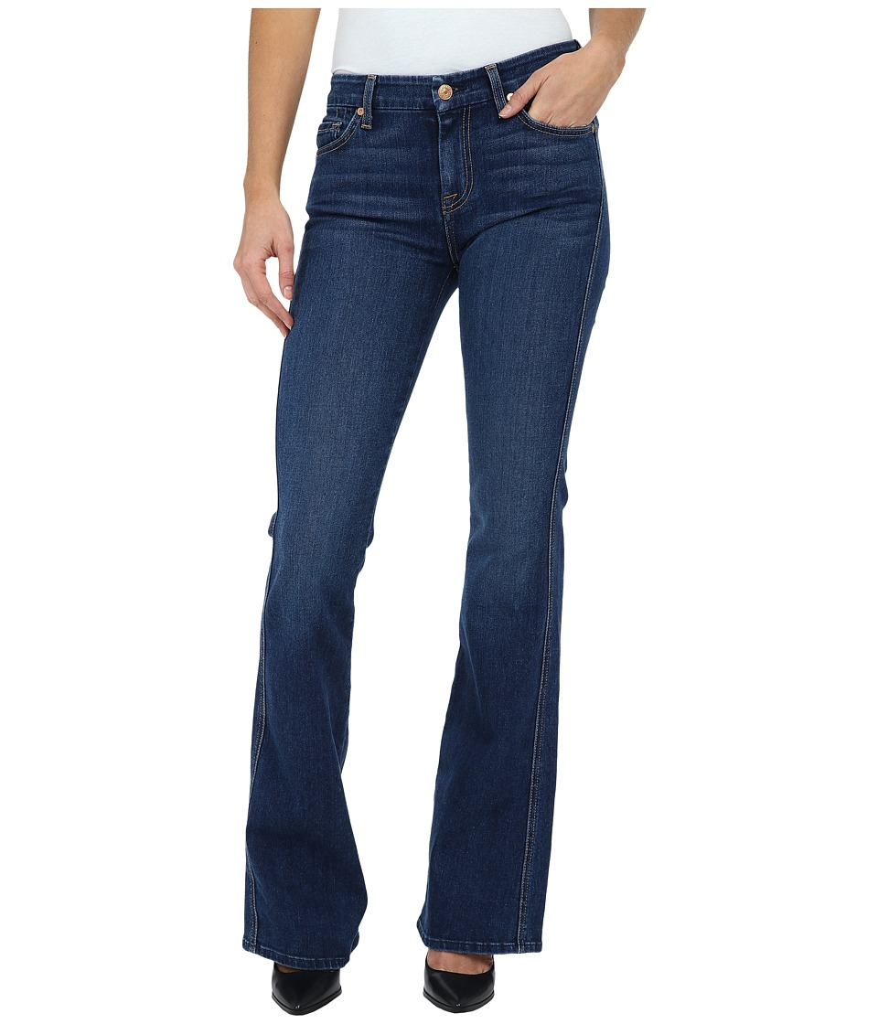 7 For All Mankind - A Pocket w/ Contrast A in Slim Illusion Stunning Seville (Slim Illusion Stunning Seville) Women's Jeans