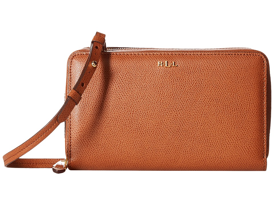 LAUREN Ralph Lauren - Whitby Multifunction Crossbody (Lauren Tan) Cross Body Handbags