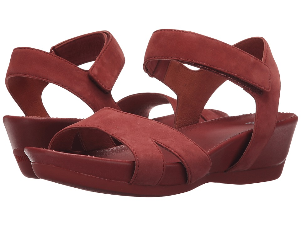 Camper - Micro - K200116 (Medium Red) Women's Sandals