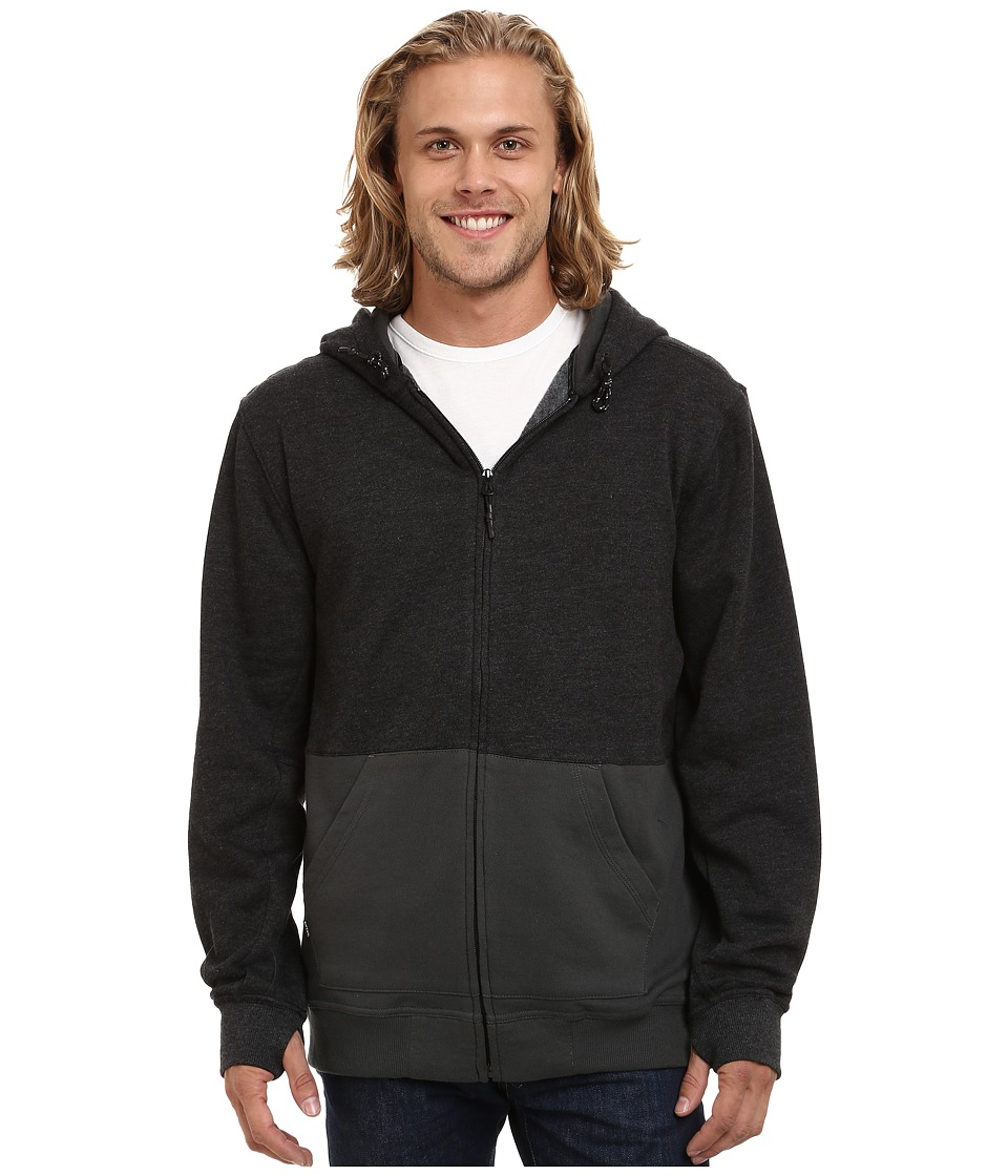 Rip Curl - Herring Anti Series Fleece (Black) Men's Fleece