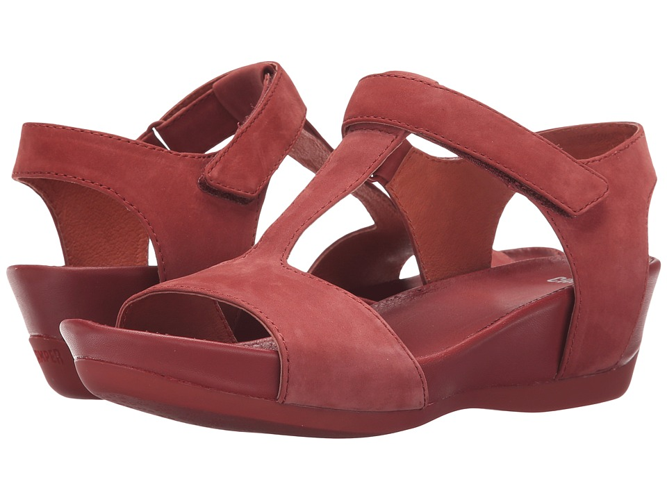 Camper - Micro - K200117 (Medium Red) Women's Sandals