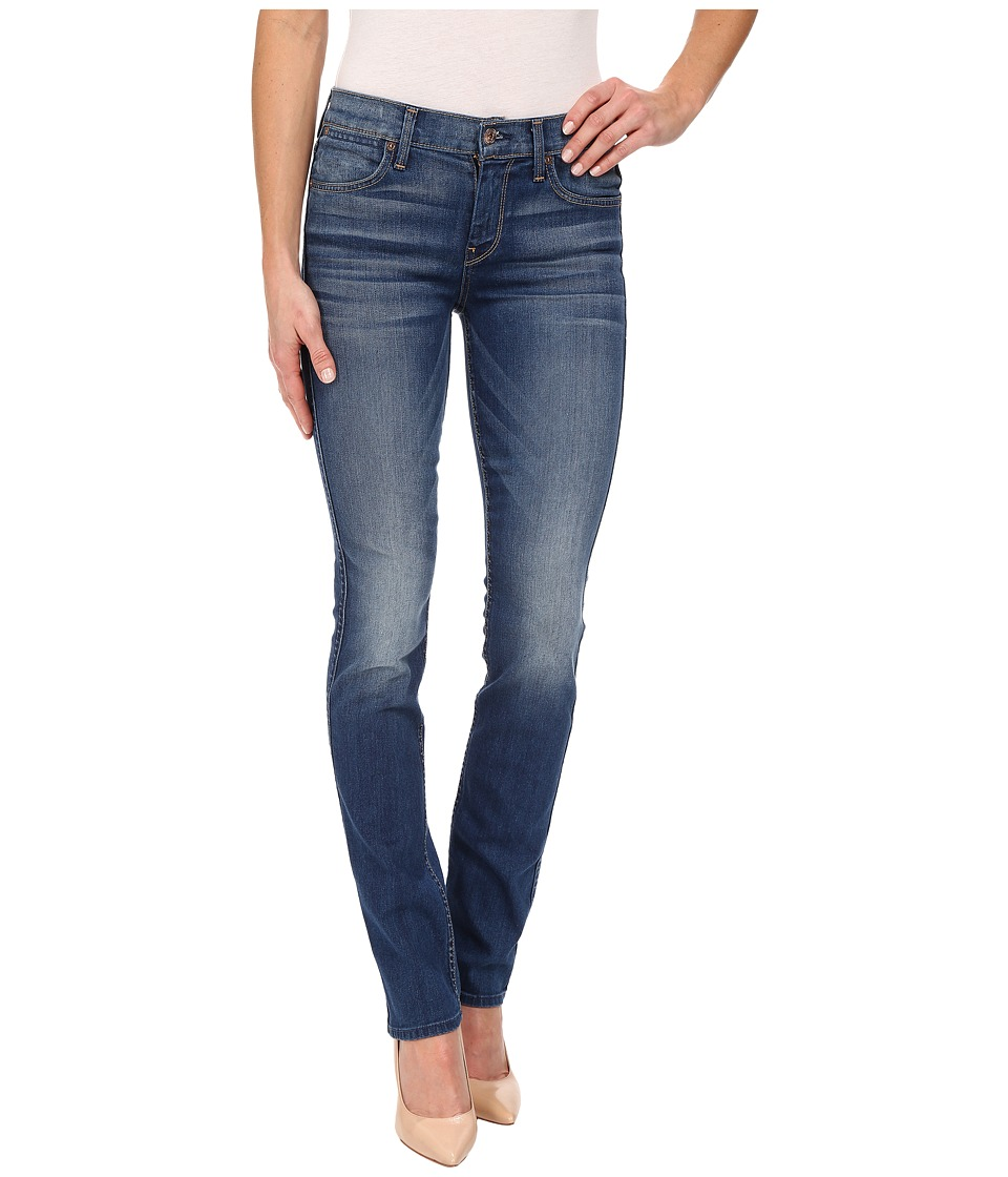 7 For All Mankind - The Modern Straight in Slim Illusion Barcelona Bright (Slim Illusion Barcelona Bright) Women's Jeans