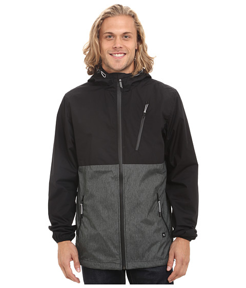 Rip Curl - Sweeper Jacket (Black) Men's Coat