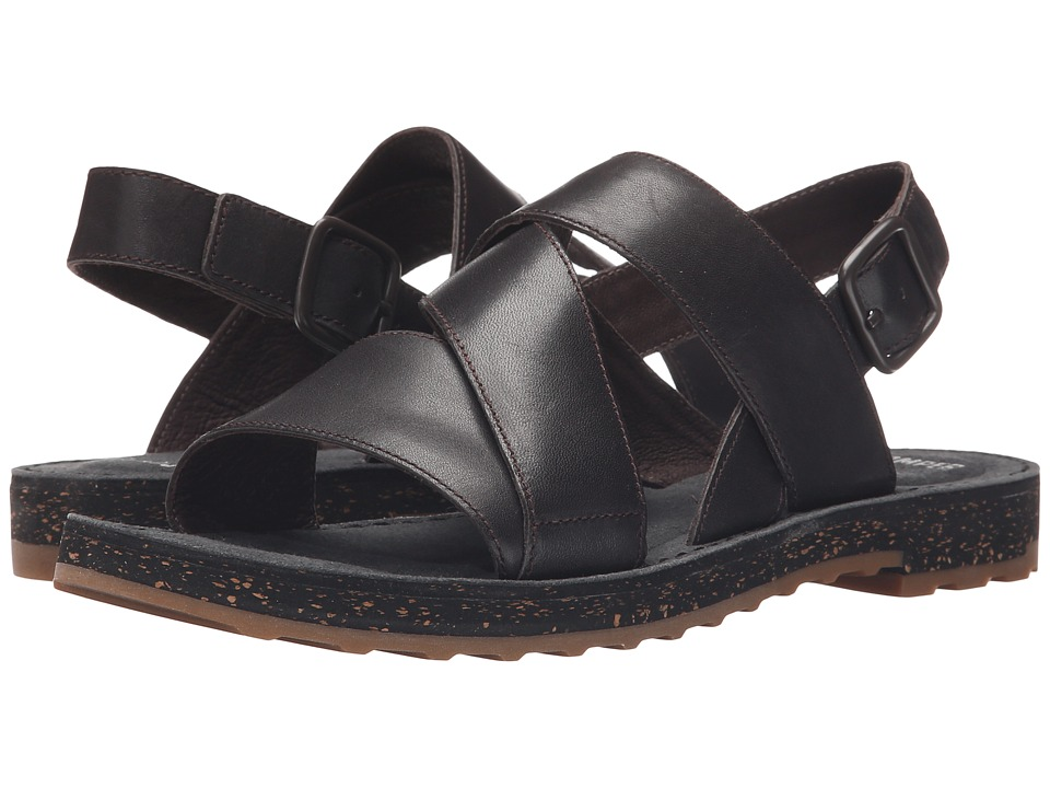 Camper - PimPom - K200138 (Dark Brown) Women's Sandals