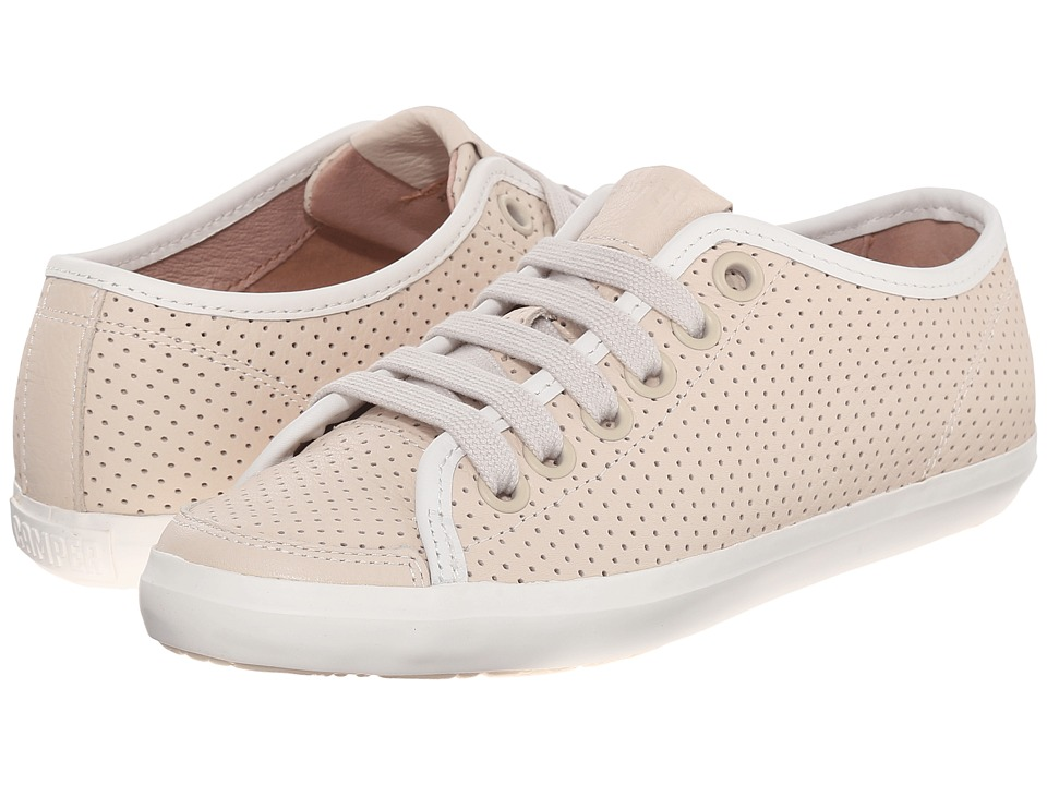 Camper - Motel - 22554 (Medium Beige) Women's Lace up casual Shoes