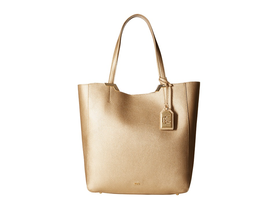 LAUREN by Ralph Lauren - Acadia Tote (Gold Rush) Tote Handbags