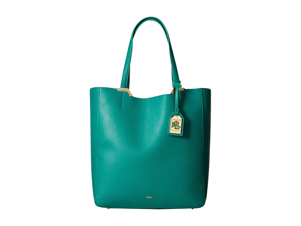 06a90a0e9a 888188184992. LAUREN by Ralph Lauren - Acadia Tote (Jewel Green) Tote  Handbags. EAN-13 ...